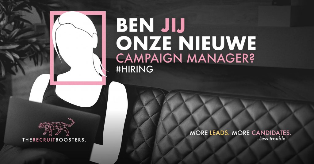vacature Campaign Manager